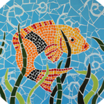 Green Pasture Asia - Fish Mosaic