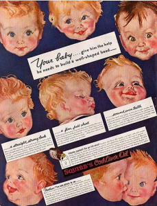 Green Pasture Asia - Squibb Ad 1930 - Your baby